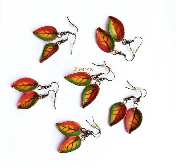 Frunze multicolore
