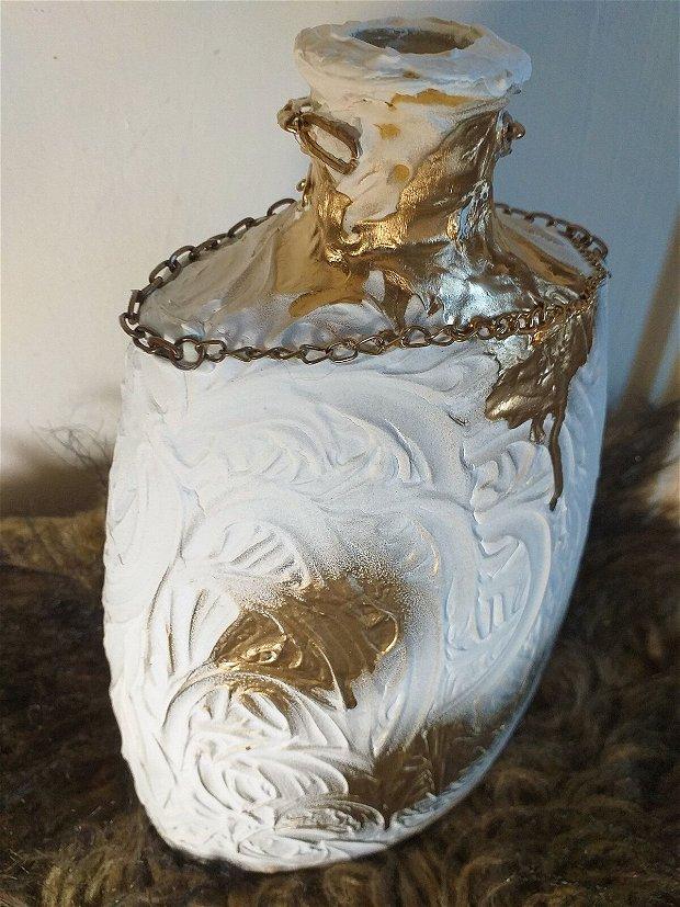 Vaza 3D flori miniatura tip vintage