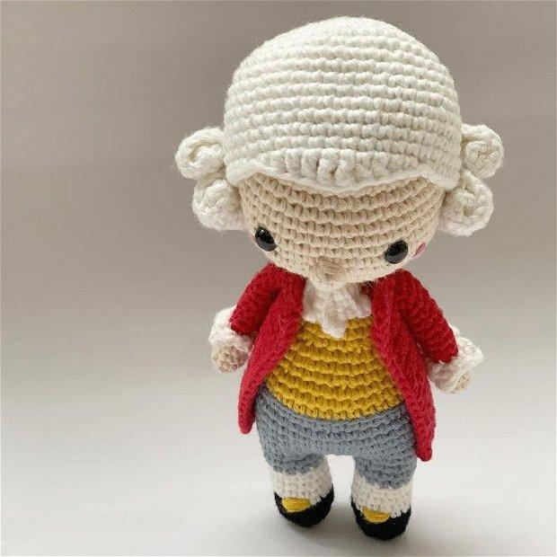 Papusa crosetata Mozart