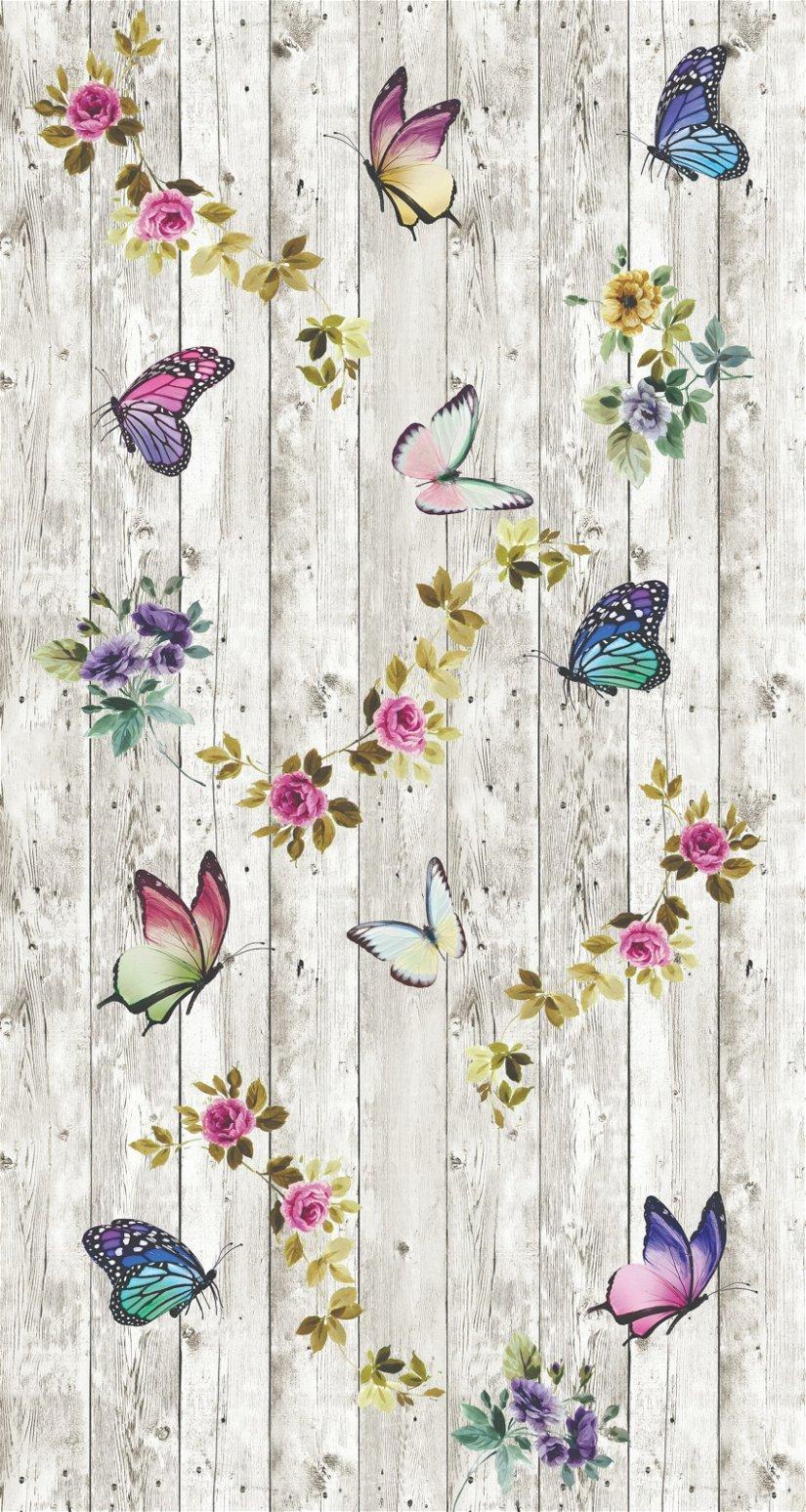 Covor Butterflowers 5016 Multicolor, 80 x 150 cm