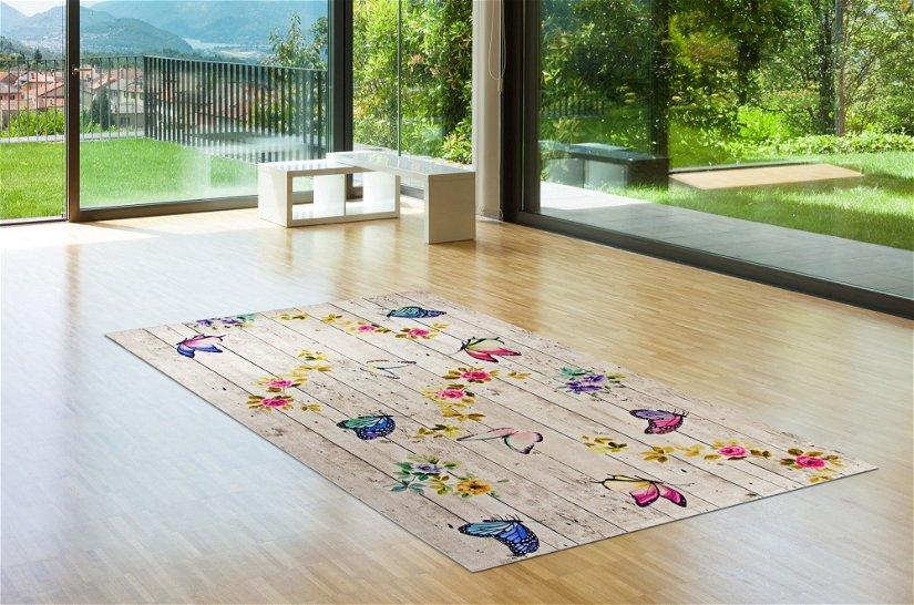 Covor Butterflowers 5016 Multicolor, 120 x 180 cm