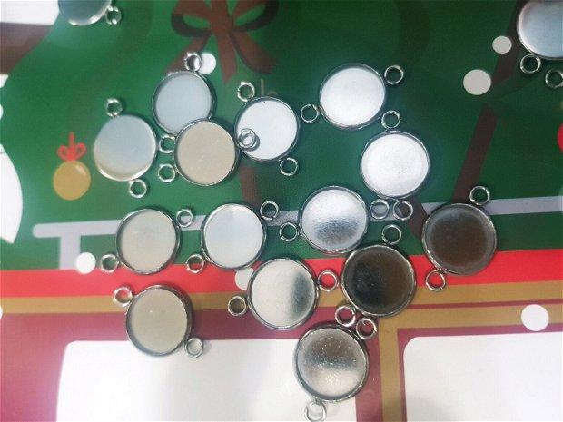 Link (conector) inox, interior 12 mm
