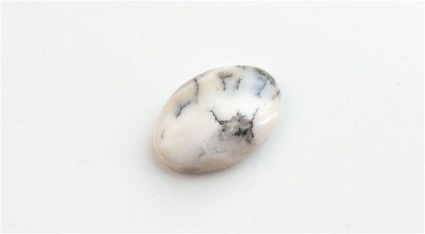 Cabochon  opal dendritic -