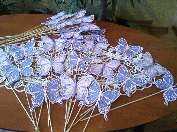 Fluturi mari decorativi