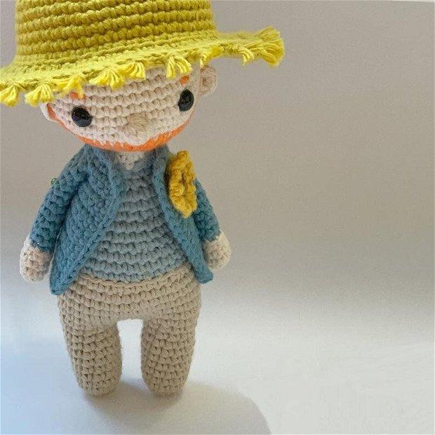Papusa crosetata Van Gogh