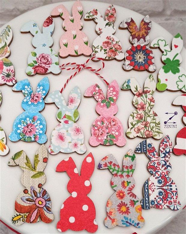 Martisor iepure, martisoare iepuri, brosa iepuras, brosa martisor, brosa flori, iepure flori