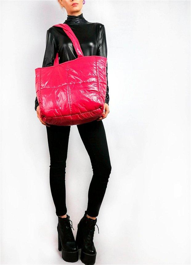 Pink Pillow Bag