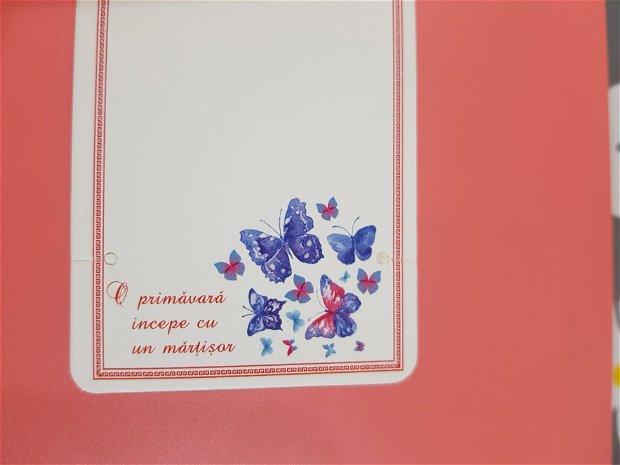 100 Cartonașe mărțisor (9x5,5cm)