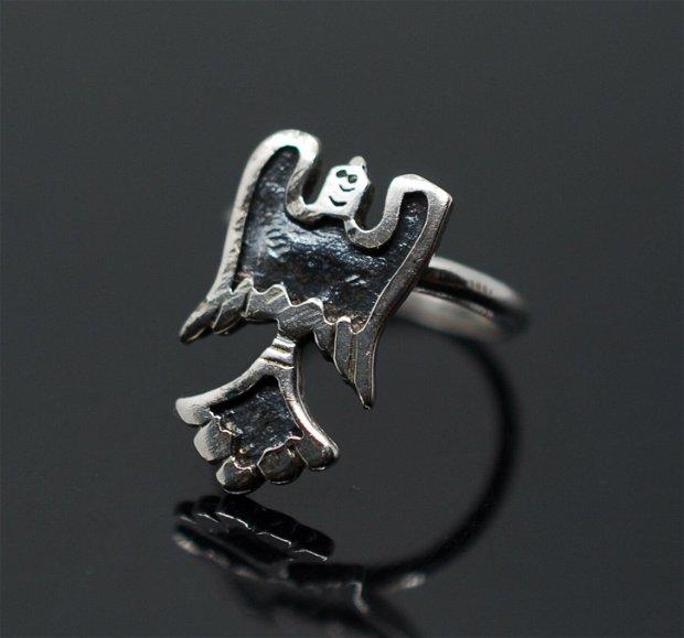 Inel din argint 925 cu element vintage
