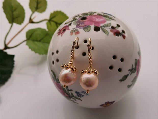 Cercei perle Edison