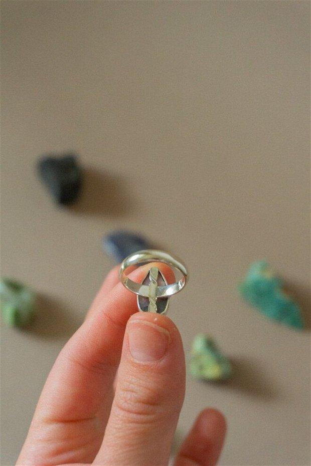 Inel din argint 925 cu Opal Roz