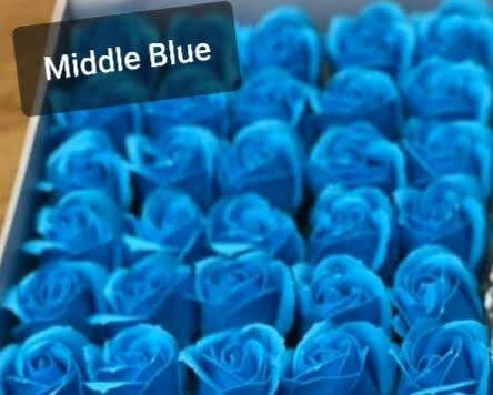 Trandafiri de sapun Albastru