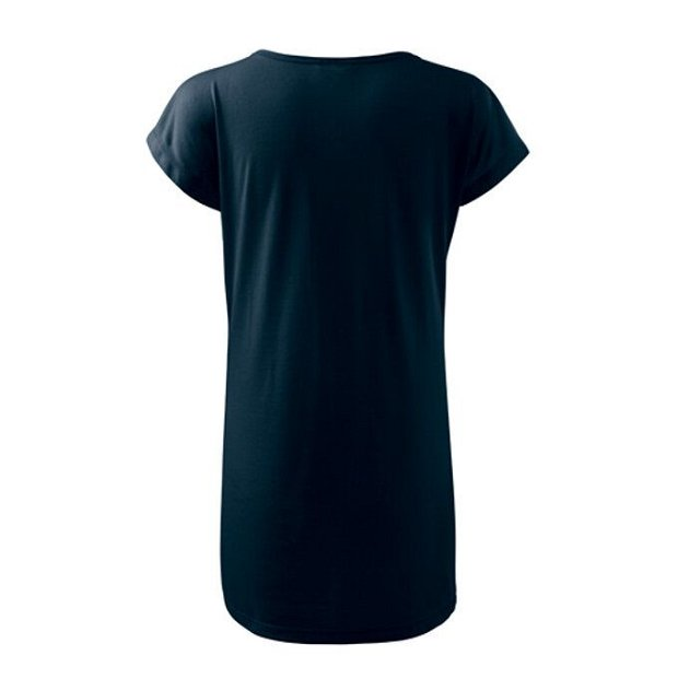 Tricou tip rochie Bleumarin pentru damă, Love