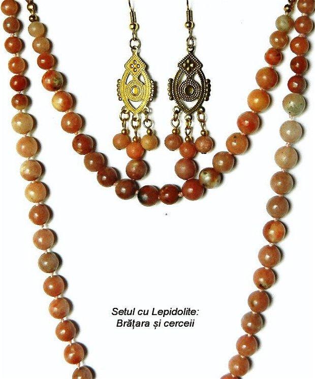 Set cu Lepidolite (409)