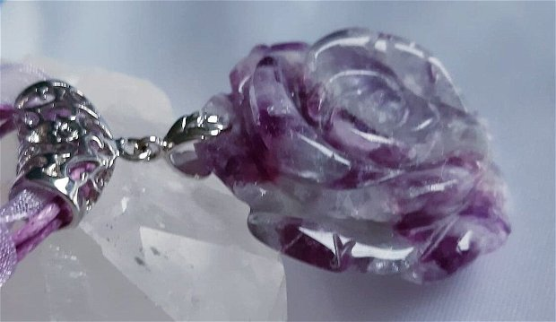 Fluorite Rose