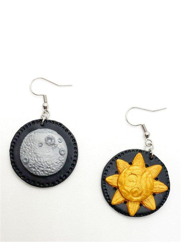 Cercei soare si luna