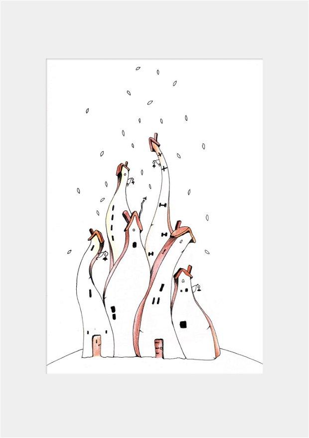 Casute, Arte Vizuale-Ilustratie