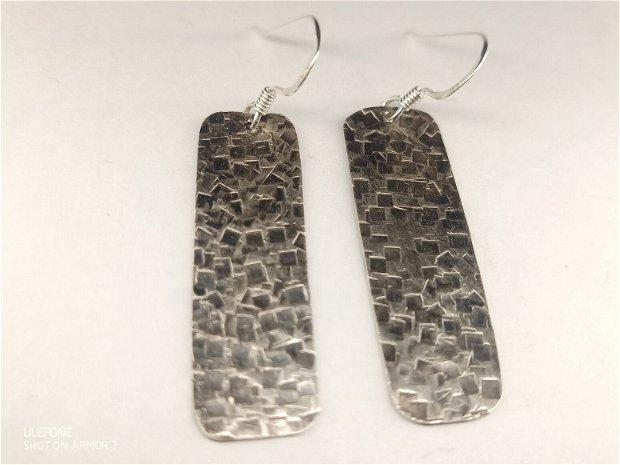 Cercei asimetrici argint