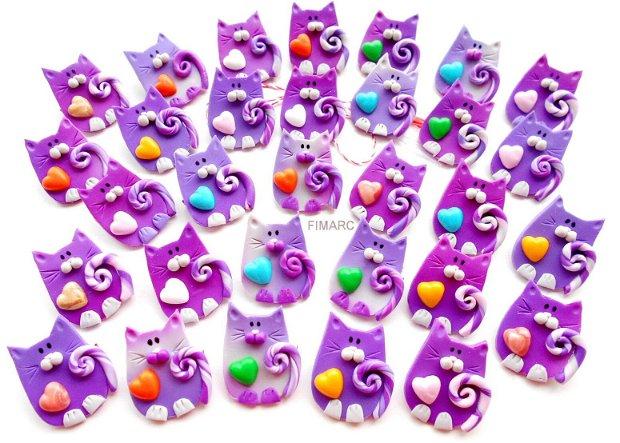 Pisici colorate - brose