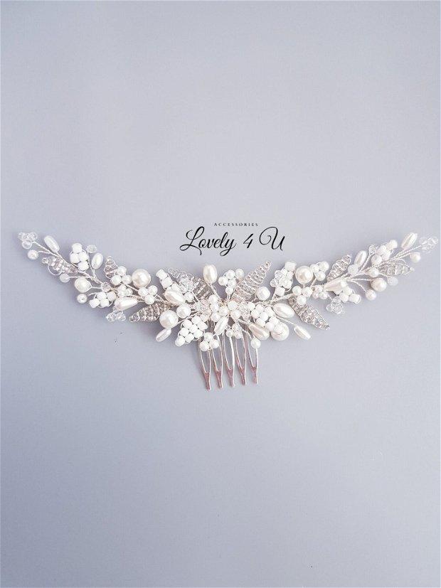 KENNEDY - Diadema mireasa cu perle