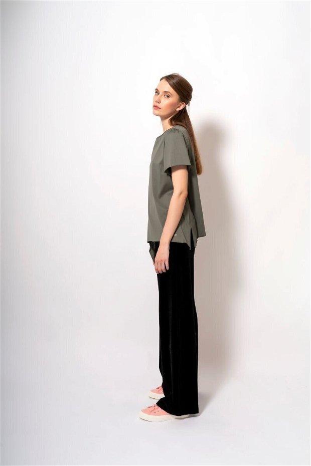 Pantaloni largi Black Velvet