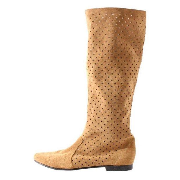 Summer boots, bej