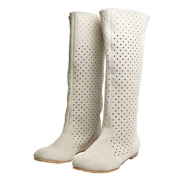 Summer boots, alb