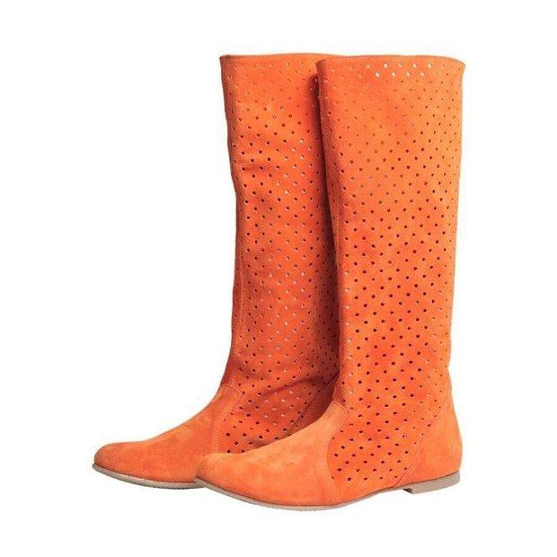 Summer boots, oranj