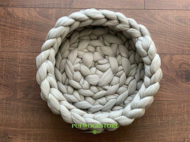 Pat pentru pisica din lana Merino