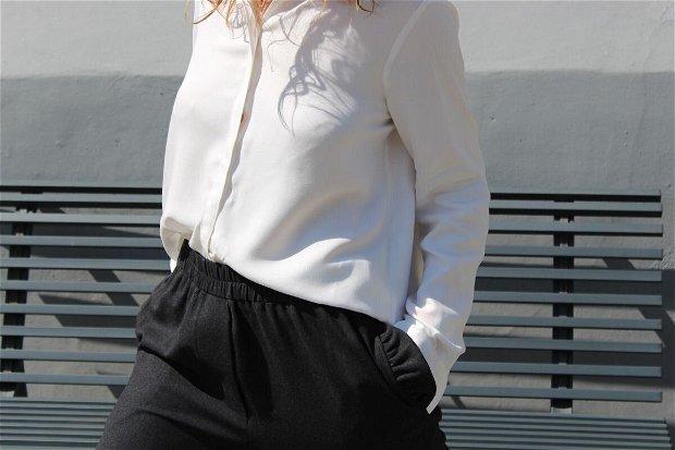 Pantaloni POP (casha gri inchis)