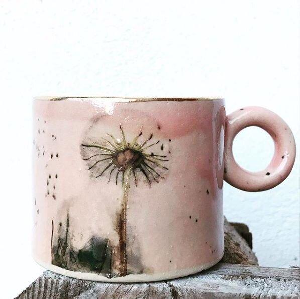 Ceasca Pink Dandelion