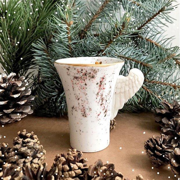 Set Cesti White Christmas