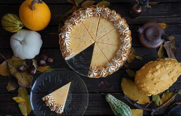 Cheesecake cu Dovleac si Măr