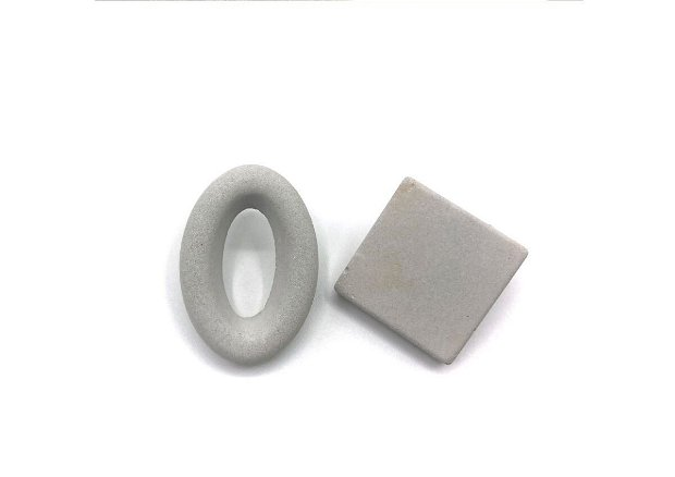 Cercei Minimalisti Ciment _ Geometric