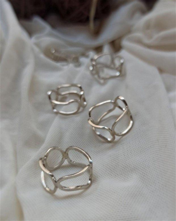 Free Form inel | Argint