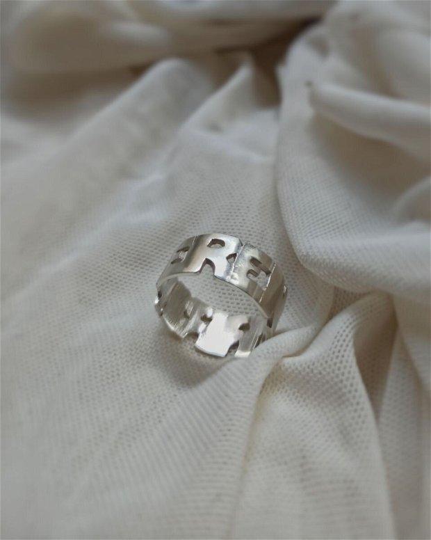 FERENTARI inel   Argint