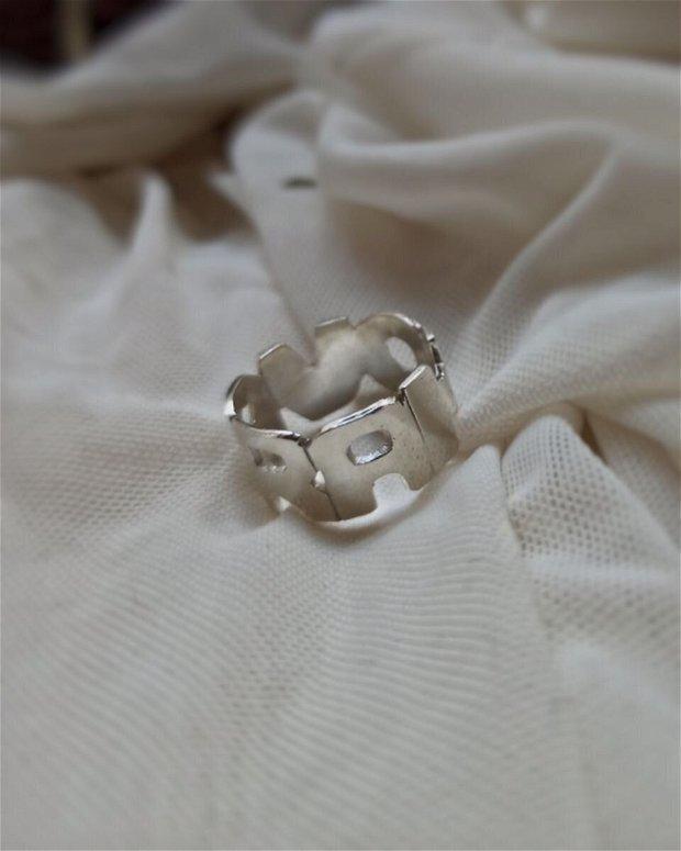RAHOVA inel | Argint
