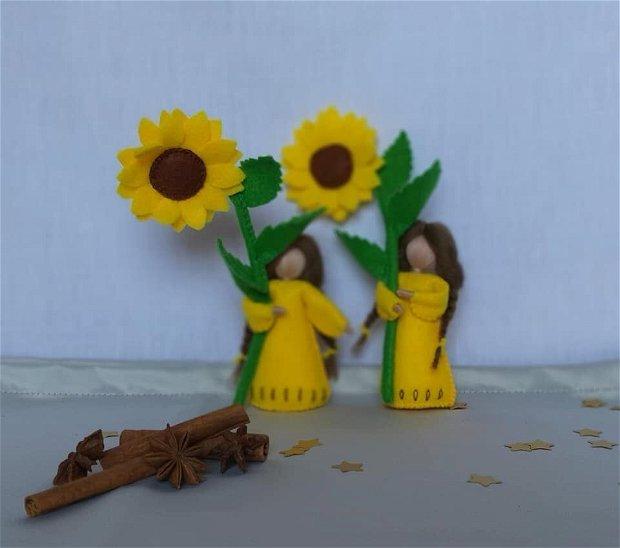 Copila floarea soarelui
