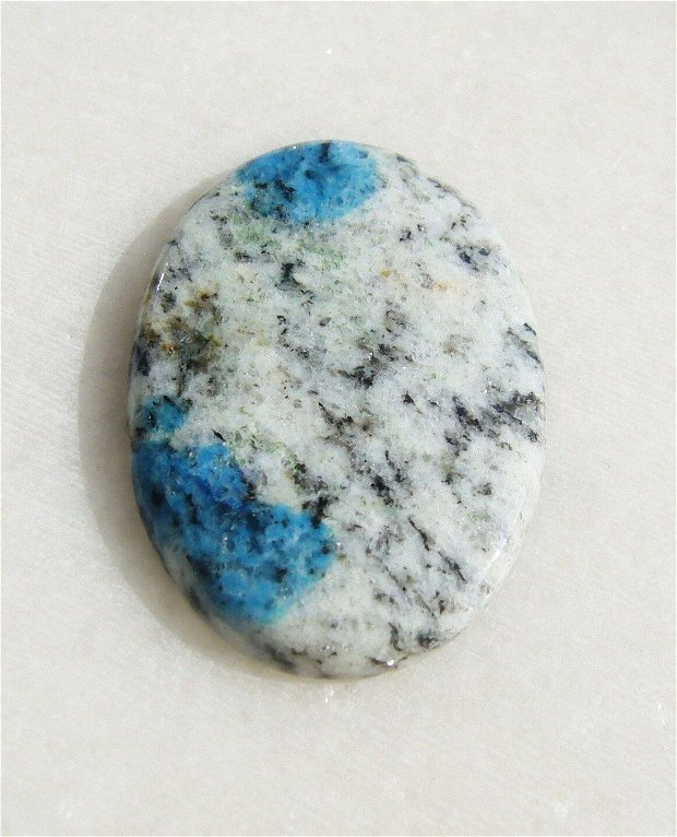 Cabochon jasp K2 (INDIA - lucrat manual) aprox 32x21.5x3.6 mm