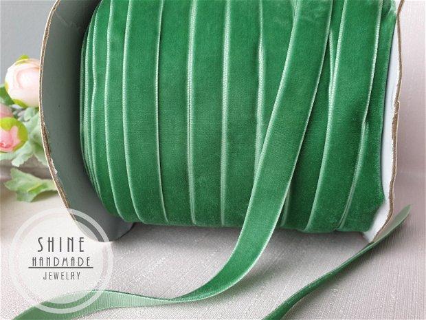 Panglica catifea Sea Green