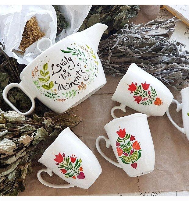 """CEAINIC """" LOVELY TEA MOMENTS """""""