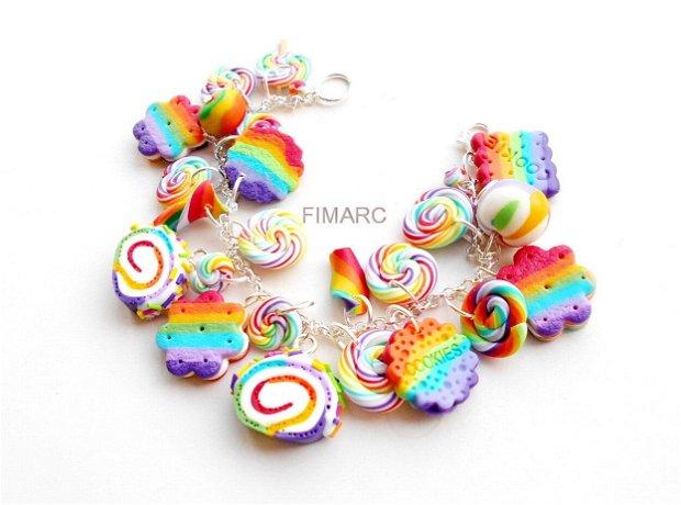 Rainbow Sweets - bratara
