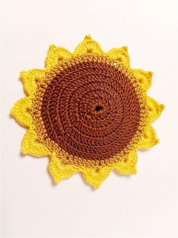 Suport pahare floarea soarelui