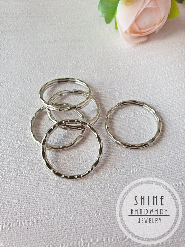 Inel de breloc, silver