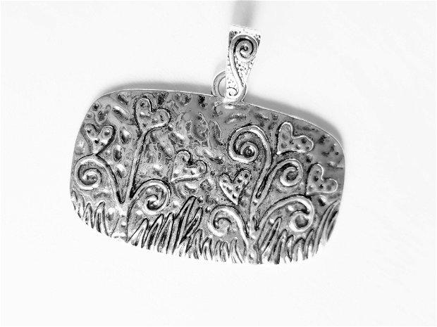 Pandantiv, nuanță argint antic