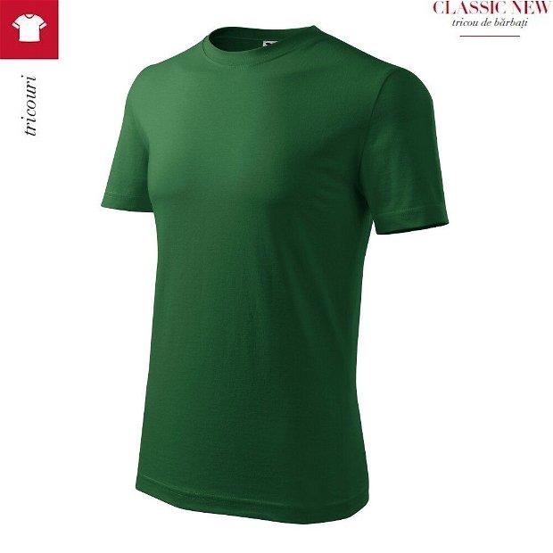 Tricou Verde Sticla pentru barbati, Classic New