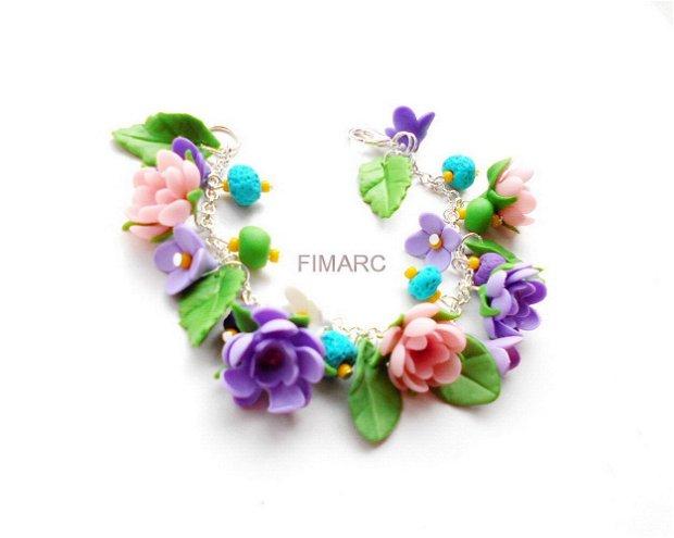 Flori de maces - bratara