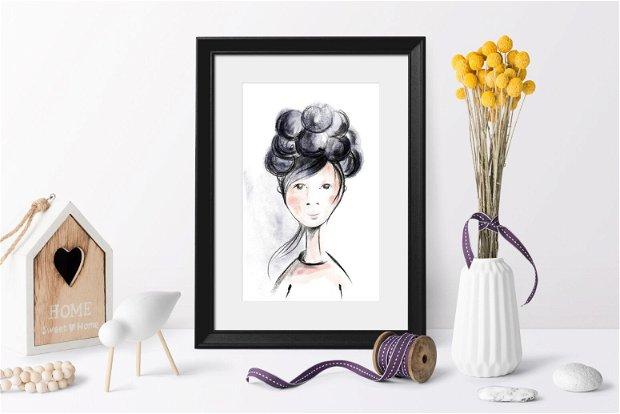 Portret, Arte Vizuale-Ilustratie