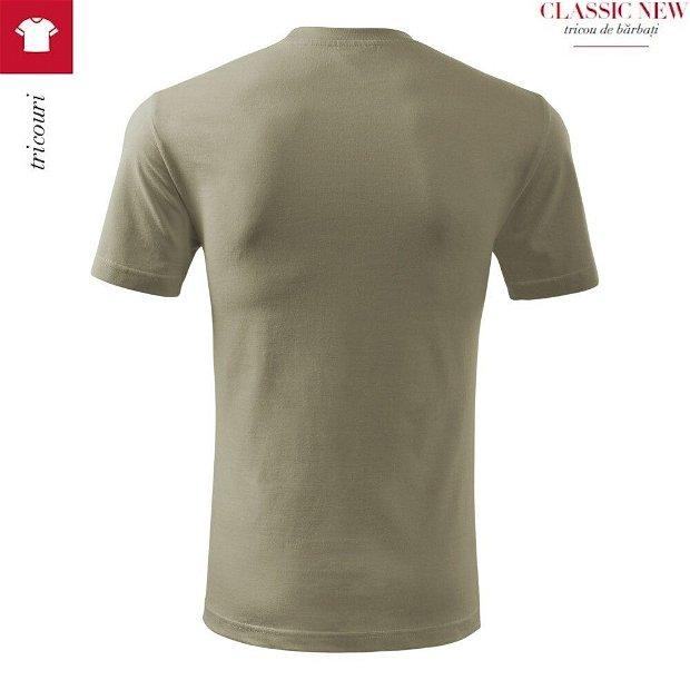 Tricou Khaki pentru barbati, Classic New