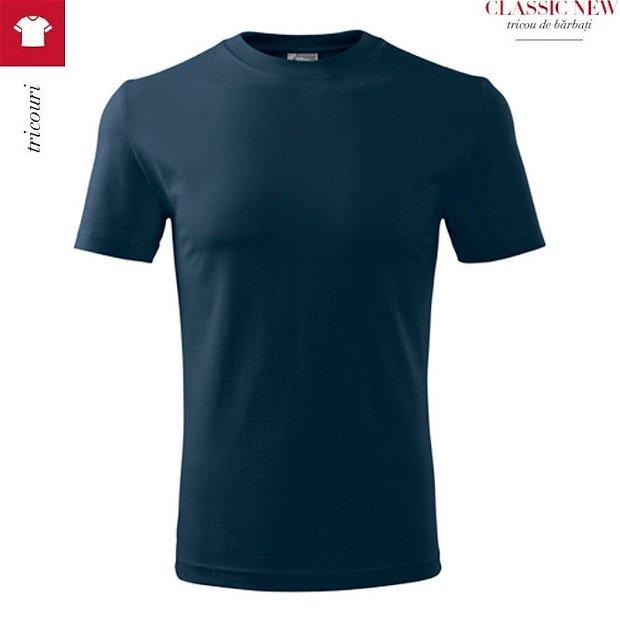 Tricou Bleumarin pentru barbati, Classic New